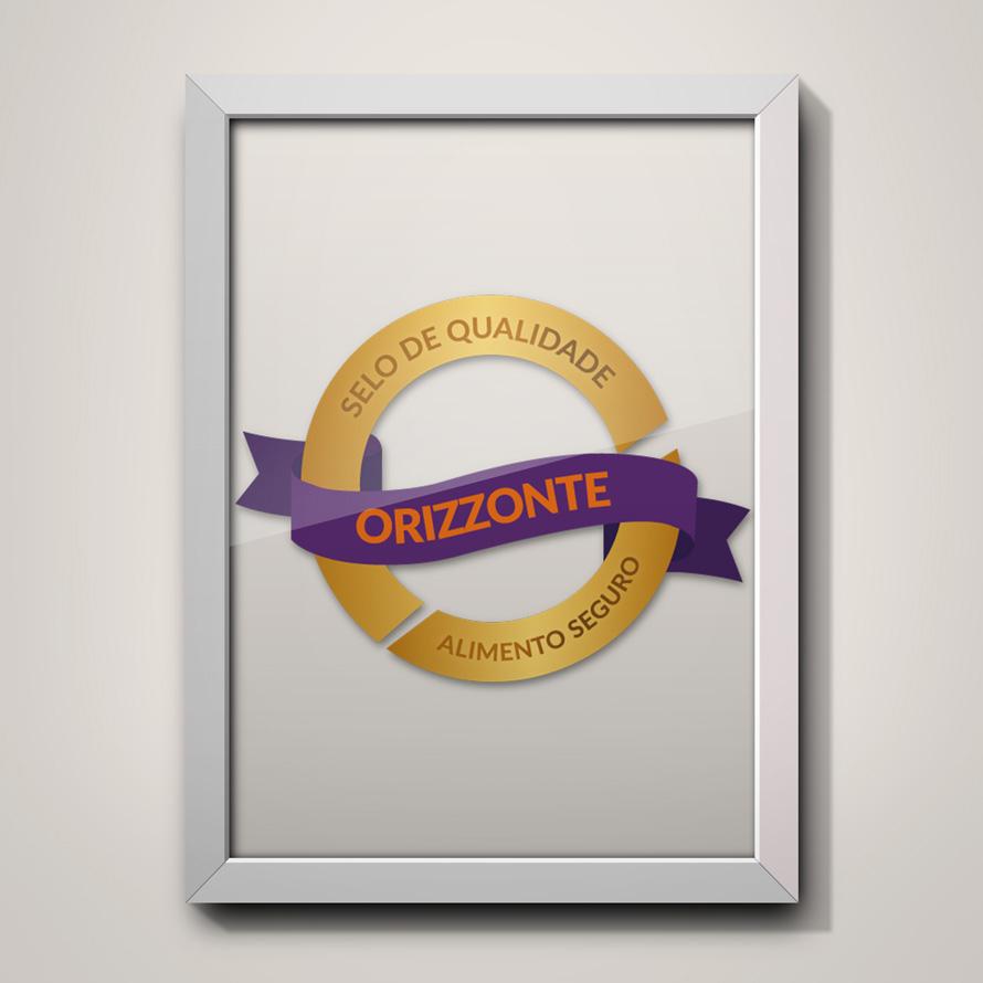 Selo de qualidade Orizzonte